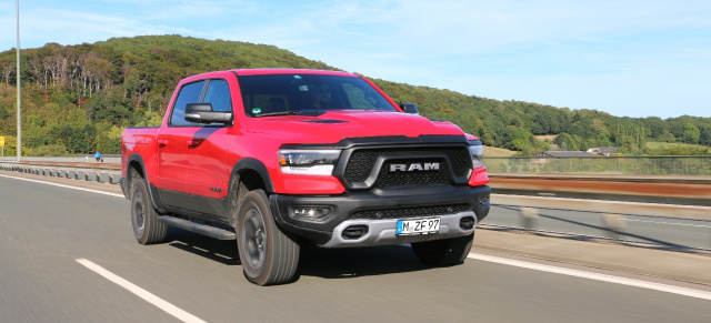 Fahrbericht / 2019er RAM 1500 Rebel Pickup: Rebel Yell!