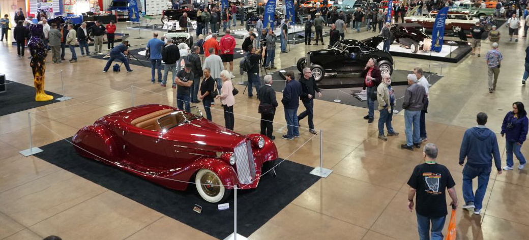69th Grand National Roadster Show 2018, Pomona, CA (USA): The Grand Daddy of All