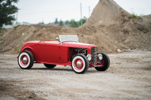 1932er Ford Roadster: Fifties Style Hi-Boy