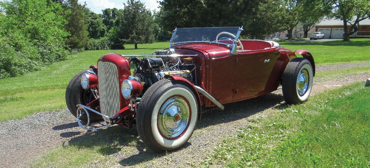 Early East Coast Rod: 1931er Ford Model A Roadster