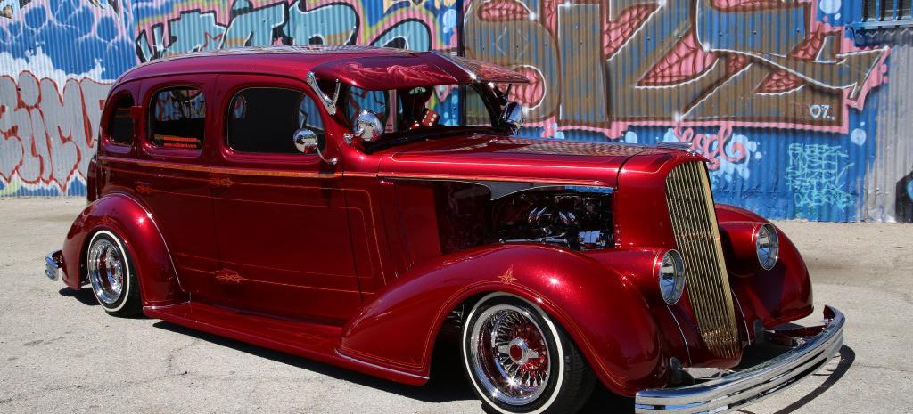 Show Low Ford >> Essen Motor Show: Lowrider El Padrote: 1936 Chevrolet Master De Luxe - ein erfolgreicher ...
