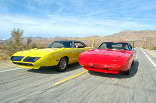Winged Warriors: Im Vergleich: 1969er Dodge Charger Daytona und 1970er Plymouth Road Runner Superbird