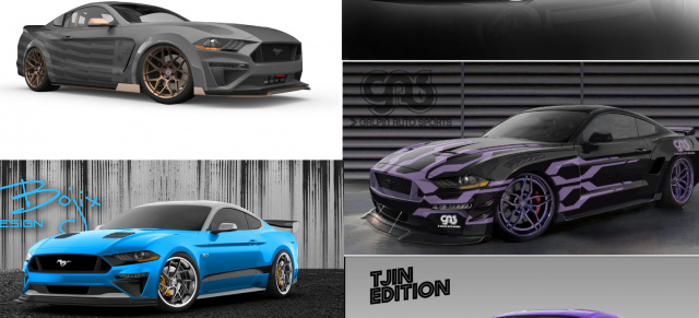 SEMA Show 2018: Ford Mustang Tuner Show Cars
