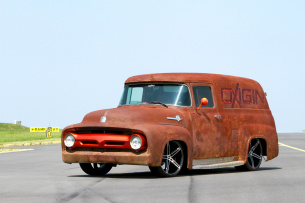 Rust in Peace! : Ford F100-ShowCar