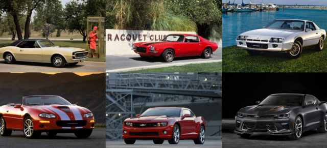 AmeriCar-History: Happy Birthday!: 50 Jahre Chevrolet Camaro