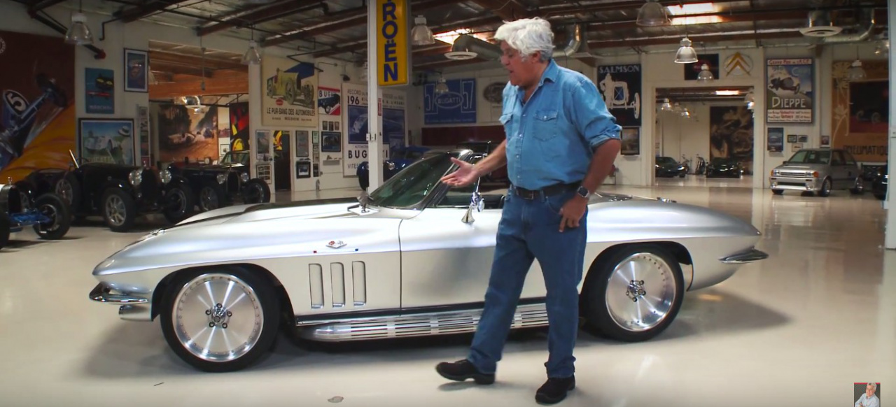 Jay Leno's Garage: Joe Rogan's 1965 Chevrolet Corvette ...