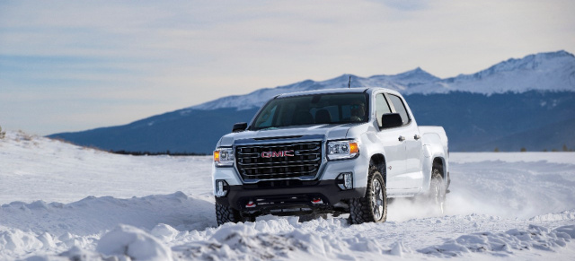 Neuer Premium Pickup: 2021 GMC Canyon