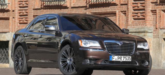 Schon gefahren: Chrysler 300C / Lancia Thema: Marktstart für die ...