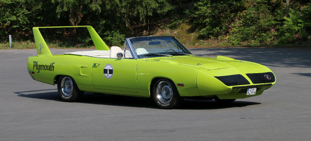 ONE of NONE: 1970 Plymouth Road Runner Super Bird Convertible