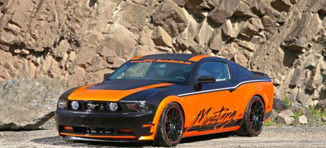 Design St 252 Ck 2011er Ford Mustang In Folie Geh 252 Llt Us Car