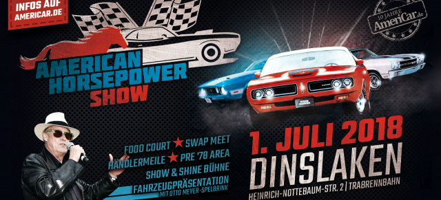 American Horsepower Show:  Webbanner & Flyer zum Download / Werbemittel