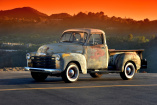 Rostiger Daily Driver? : 1953er Chevy Pick Up im Patina Look!
