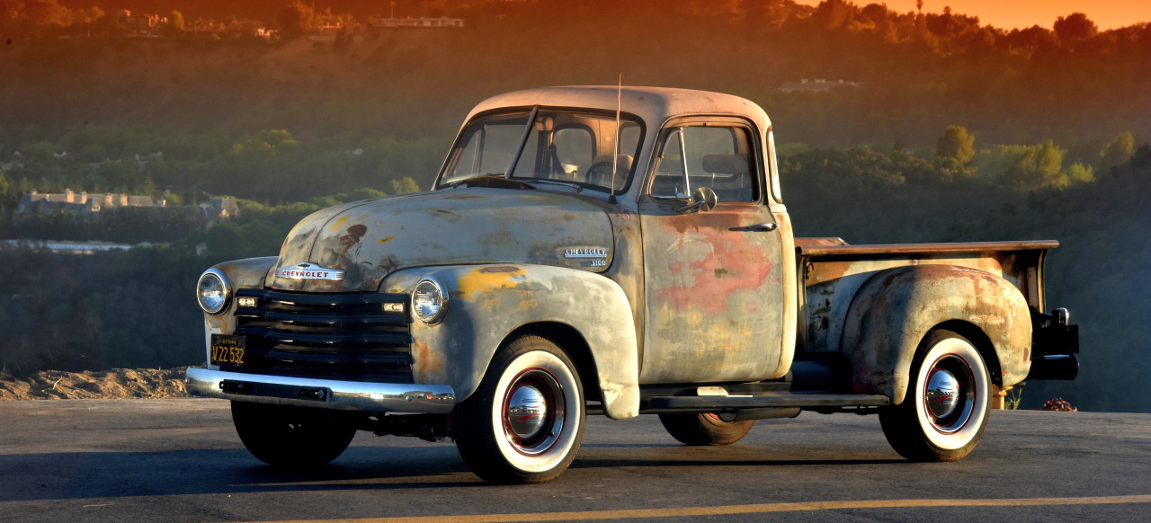 rostiger daily driver 1953er chevy pick up im patina look auto des monats americar das. Black Bedroom Furniture Sets. Home Design Ideas
