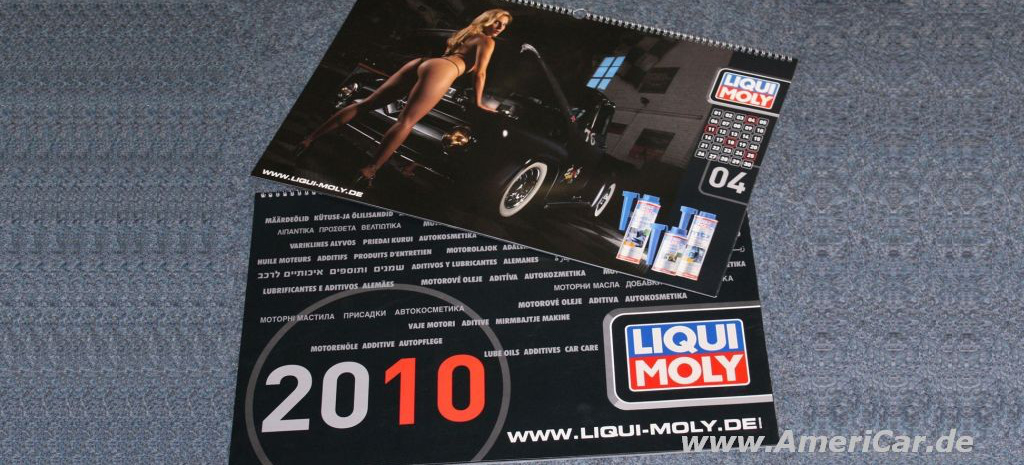 us cars girls der liqui moly kalender 13 hei e motive. Black Bedroom Furniture Sets. Home Design Ideas