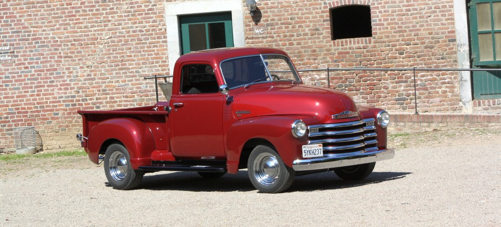 farmer s dream 1949er chevy 3100 pick up lust am us car laster auto des monats americar. Black Bedroom Furniture Sets. Home Design Ideas