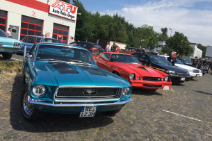 So war's:: 3. American Burger & Cars am Franky's Diner, 24. Juli, Bochum