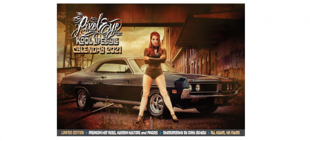 Lifestyle, Hot Rods, Pinups und Tattoos: Kool Lifestyle Kalender