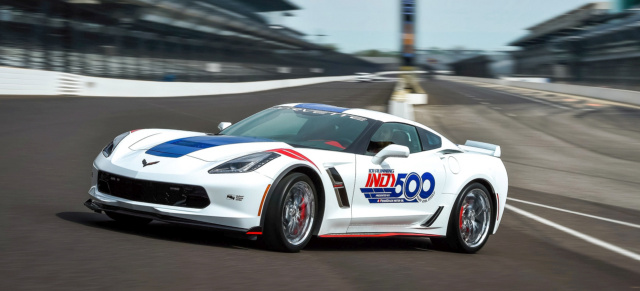 28 Mai: 101st Indianapolis 500: Corvette Grand Sport ist das Official Pace Car 2017