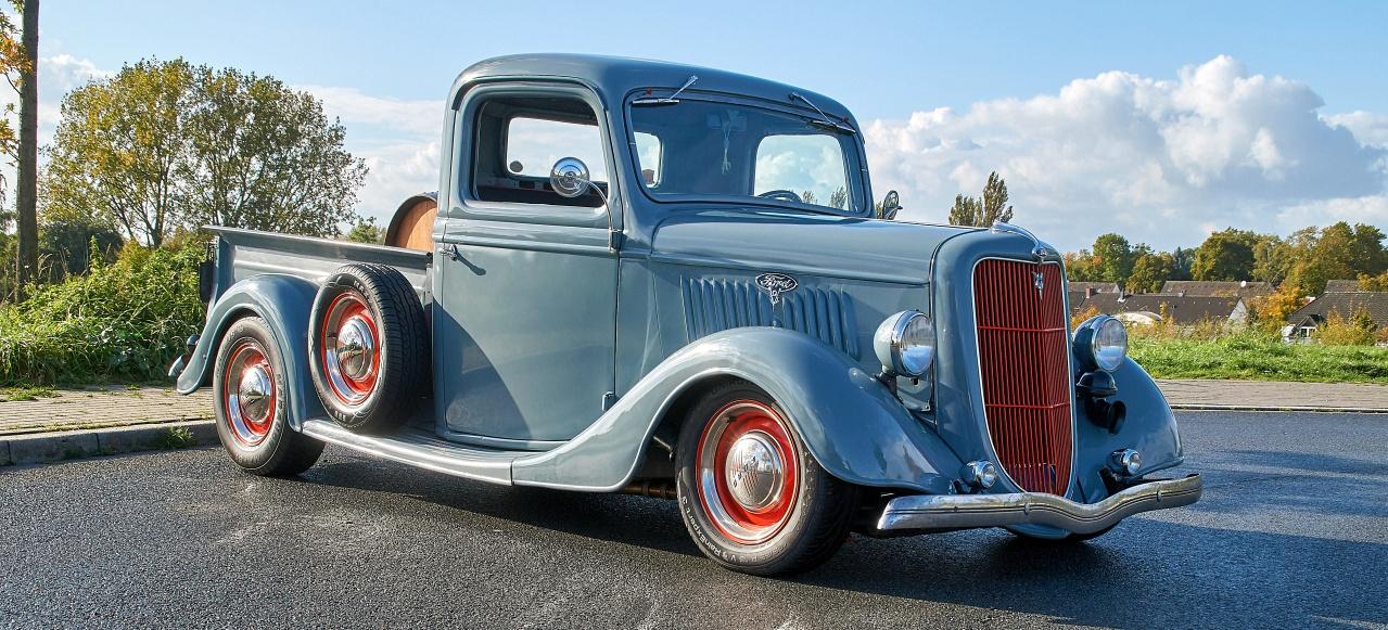 Angry Grandpa: Rüstiger Rentner: 1935er Ford Pickup - Customs and ...