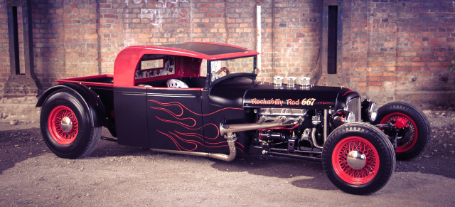 Rockabilly Rod 667: The little Brother of the Beast: 1929 Ford Model A