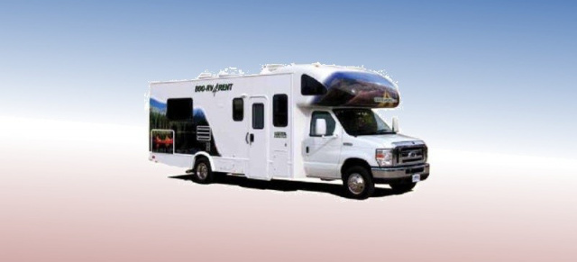 cruise america mit neuem wohnmobil modell mit dem. Black Bedroom Furniture Sets. Home Design Ideas