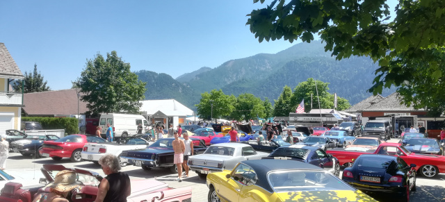 So war's: 2. US Car & Bike Lake Route Meeting in Unterach am Attersee, 29.06.