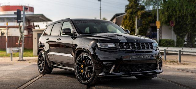 Jeep Grand Cherokee Trackhawk: MANHART GC 800 - ein Jeep vom BMW Tuner?