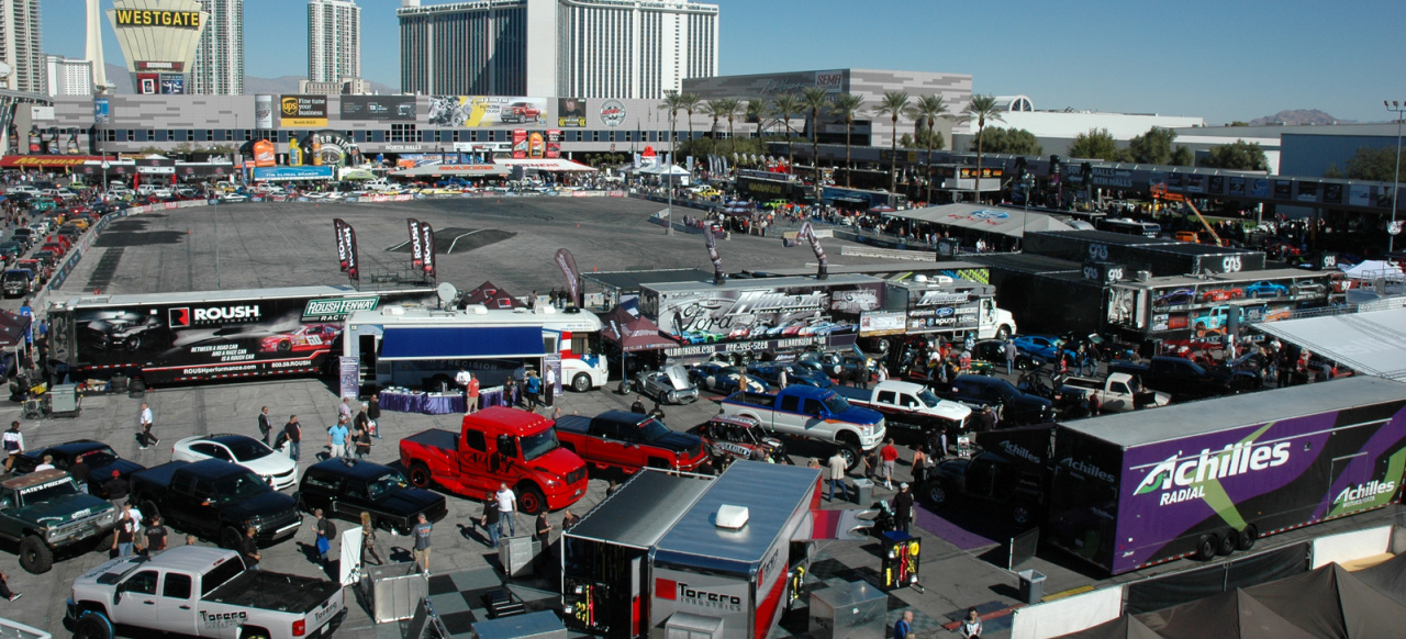 3 6 november sema show las vegas usa die gr te for Pool show las vegas november