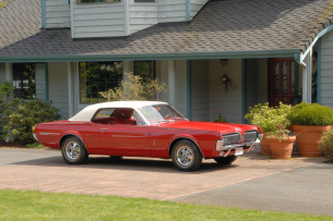 Top Cat: 1967er Mercury Cougar: Mercury Cougar Number One