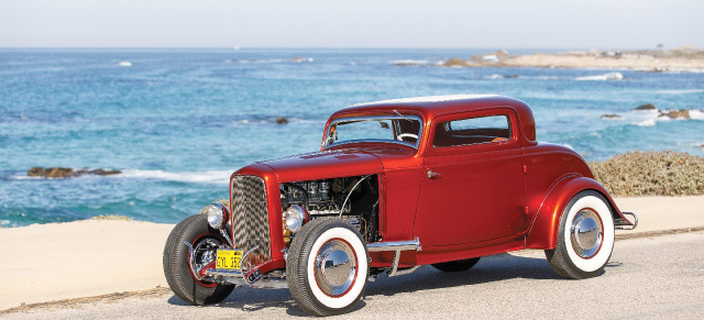 1932er Ford Three-Window-Coupé von Lloyd Bakan: Delicicous Deuce