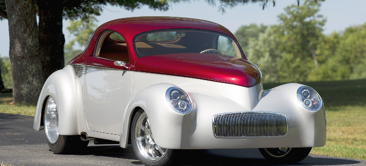 A real Americar: 1941er Willys Street Rod