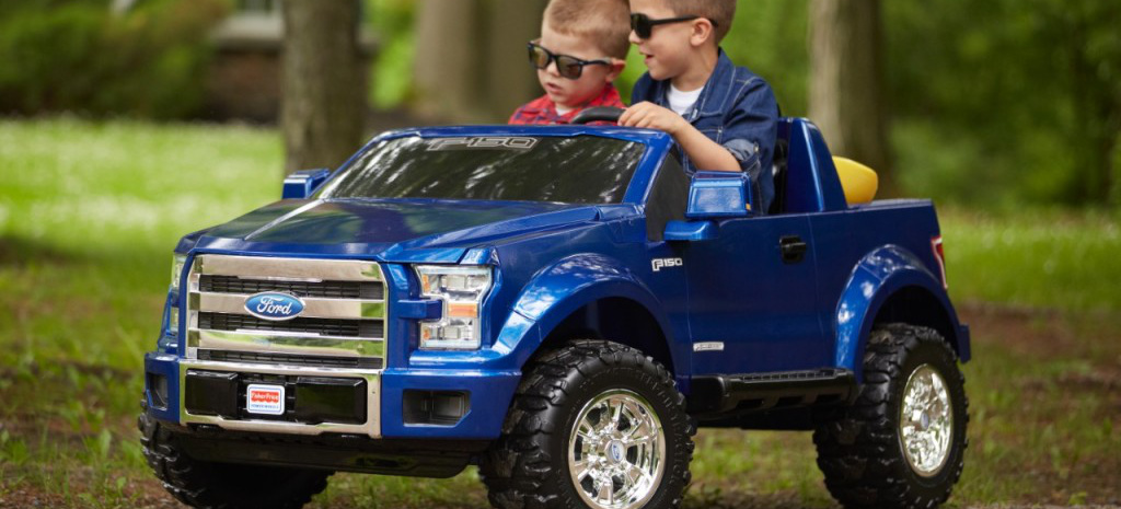 Ford Aufsitz-Spielzeug : Fisher-Price präsentiert F-150 ...