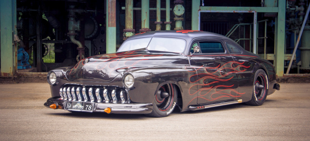 Rockabilly Freakout : 1949er Mercury Coupe by Tiroch Art