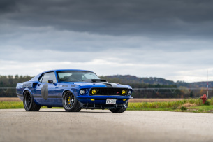 "Tribute to an Unkle: Motorsport inspiriertes Muscle Car mit 520-ci-V8 Motor: 1969er Ford Mustang Mach 1 ""UNKL"""