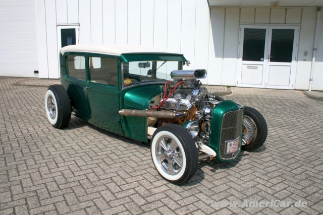 Ford Garage Eindhoven : Old school hot rod in farbe u2013 1929er ford a sedan: born in the usa