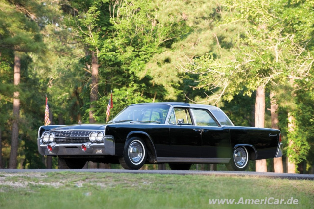 USA Number 1: 1962 Lincoln Continental Bubbletop Kennedy Limousine ...