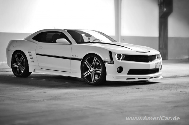 modern muscle 2010er chevrolet camaro ss schon getunt. Black Bedroom Furniture Sets. Home Design Ideas