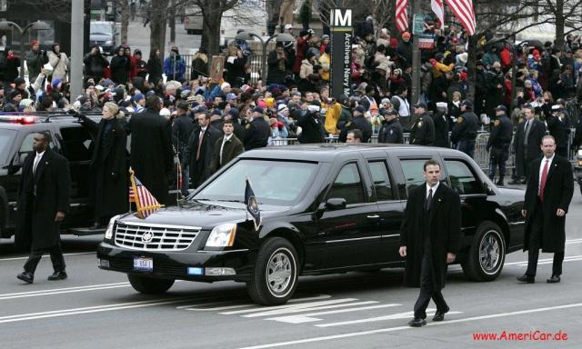 The Beast ist ein gepanzerter Cadillac!: Die Staatskarosse des ...