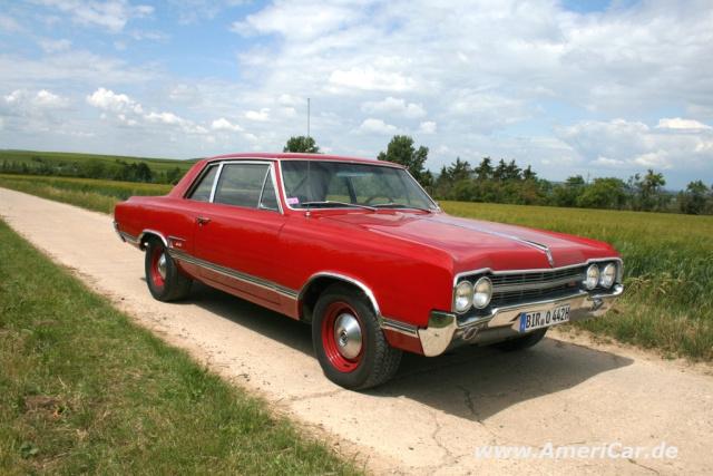 wolf im schafspelz?: muscle car power im 1965er oldsmobile cutlass 4