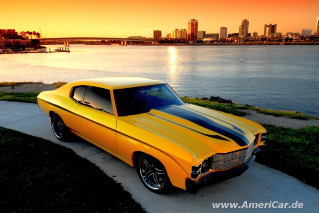 Full Yella Jacket 1971 Chevrolet Chevelle Ss Mit Videos